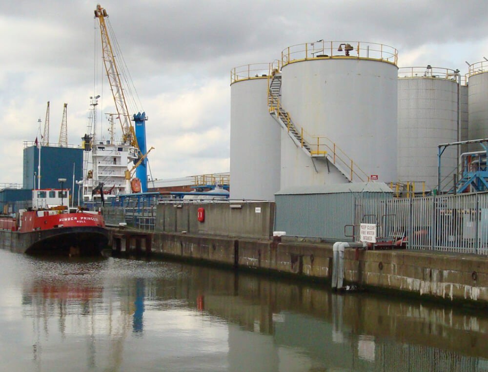 Hull east bulk liquid storage terminal
